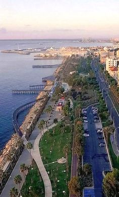 Panoramic view of Limassol city, Cyprus | by RusDrone.com