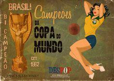 Brazil bicampeao 1962
