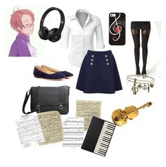 """""""Austrias daughter Rhapsody"""" by chara-sommerfeld on Polyvore featuring LE3NO, Tommy Hilfiger, Boohoo, Chloé, MANGO, Sweet Romance and Art Classics"""