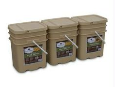 Wise Company Grab and Go Food Kits are perfect for any unplanned emergency. Our ready-made meals are packed in airtight NITROGEN PACKED Mylar pouches, and then encased in durable plastic containers.                                                                            3 servings of food per day for 4 adults or 2 adults and 4 children for 1 month packaged in 3 - 120 Serving Buckets (1 - Breakfast & 2 - Entr e Buckets). $670.00