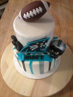 Carolina Panthers Cake!