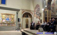 Presentato a Montefalco, alla presenza del prof. Paolucci, direttore dei Musei Vaticani, il catalogo della mostra straordinaria della Madonna della Cintola.