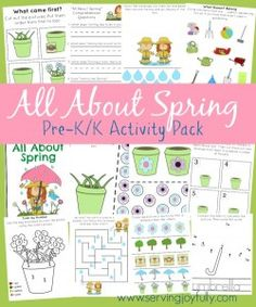 All About Spring Fun Pack