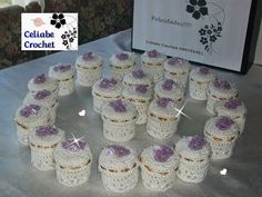DIY How to make souvenir of weddings, hardened crochet boxes, crochet. Budget Wedding Favours, Honey Wedding Favors, Vintage Wedding Favors, Creative Wedding Favors, Inexpensive Wedding Favors, Elegant Wedding Favors, Edible Wedding Favors, Unique Wedding Favors, Wedding Souvenir