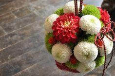 Floral Wedding, Wedding Bouquets, Wedding Flowers, Japanese Wedding, Japanese Style, Floral Pins, Hand Bouquet, Wedding Hair Inspiration, Flower Ball