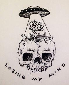 """""""Perdendo a cabeça (no caso, mente)"""""""