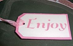 Enjoy – Gift Tag for Free File Friday.