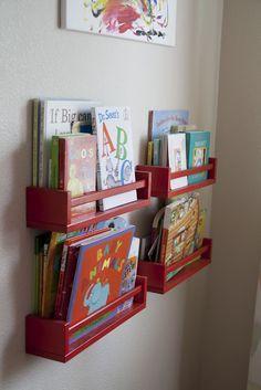 ikea hack spice rack bookshelf - Google Search