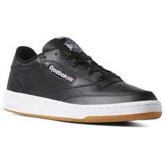 6db575238d614 Reebok Shoes Men s Club C 85 in Black White Gum Size 15 - Court