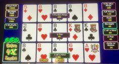 video poker with a multiplier