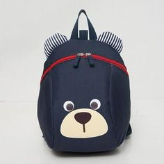 a13865c06a Baby Bear Children Backpack For 1-3 Years Kindergarden Boys And Girls Bag  Animal Cartoon