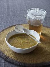 Recette soupe détox au poireau et chou vert