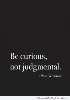Definition: information to Form Impressions and Make decision  This quote is true because people usually to judge others based their characteristic and actions. Just don't judge a book by its cover.