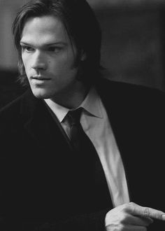 Sam Winchester. Swiggity swurn I don't approve of those side burns.