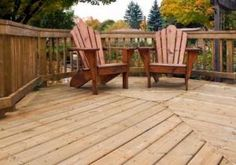 build deck backyard