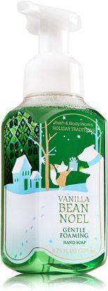 Vanilla Bean Noel Gentle Foaming Hand Soap - Soap/Sanitizer - Bath & Body Works