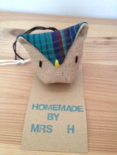Miniature hanging owl on Etsy, £3.00