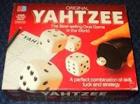 "Still play this one too! Yahtzee  - yes it was a board game before it was ""online""LOL  Childhood Memory Keeper: Retro Pop Culture from the 1960s, 1970s and 1980s: games"
