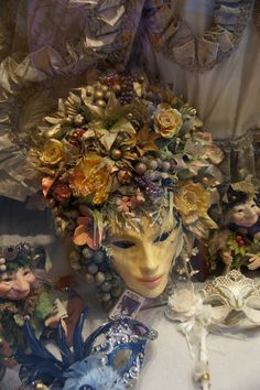 Venice, Italy - window shopping (photo by Peggy Mooney)  We sell new and used mannequins and forms at Mannequin Madness so you can create budget friendly window displays like this.
