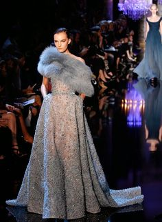 the cinderella project: because every girl deserves a happily ever after: Friday: Elie Saab Fall/Winter 2014 Haute Couture