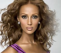 Iman Abjulmajid - originally from Somali, discovered  in 1975 on the streets of Nairobi, Kenya, by photographer Peter Beard. Four years later in 1979 she became the first 'coloured model' to sign with cosmetic giant Revlon. She's also fluent in five languages.