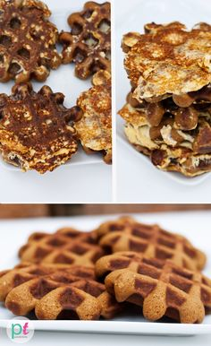 French Toast Waffles!  These are for the most part a health-food recipe, but could totally take the idea and do it all unhealthy and extra rico as well.  I love that this recipe uses coconut flour, buttermilk, pumpkin, and coconut oil.  MMM!