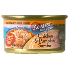 Against The Grain Chicken Pumpkin Samba Canned Cat Food 2428 oz >>> This is an Amazon Affiliate link. Check out the image by visiting the link.