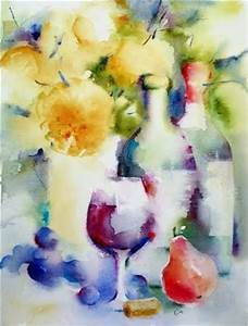 watercolor wine paintings - - Yahoo Image Search Results