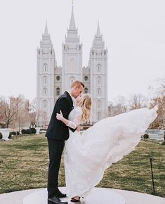 """Whoever says fairytales don't exist just hasn't hit their """"happily ever after"""" yet💕 Wedding Dress Sleeves, Modest Wedding Dresses, Yuba City, Mon Cheri, True Beauty, Happily Ever After, Classic Style, Our Wedding, Fairy Tales"""