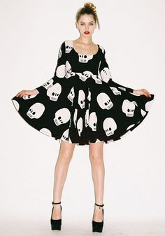 Lazy Oaf Skull dress