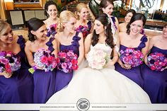 love the one shoulder dresses!