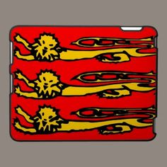 Three lions of England. ipad cases. By ccrcats.