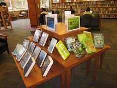Book Covers by Color Display @ Tuckahoe Library