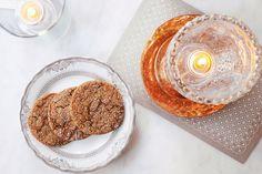 These aren't your grandma's cookies..Fernet-Branca Cookies, recipe: http://imbibemagazine.com/fernet-branca-cookies/  📷  Julia Antujaninen for @imbibe
