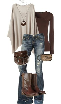Fall Fashion Ideas - The AVENUE - Fall Fashion – 20 Fashion Outfits that. Fall Fashion Ideas - The AVENUE - Fall Fashion – 20 Fashion Outfits that you can put together with cardigans, jeans, sweaters, and - ideas Chic Winter Outfits, Fall Outfits, Casual Outfits, Outfit Winter, Dress Casual, Dress Winter, Casual Chic, Comfy Casual, Rustic Outfits