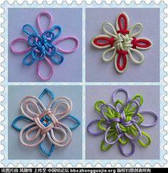 Chinese knotting art patterns