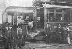 Accidente de choque tranvías 1910-07-16