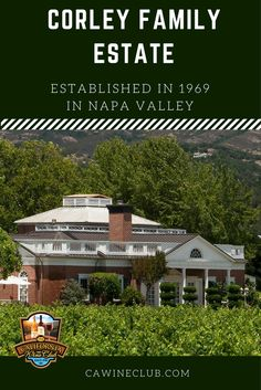 This family winery handcrafts premium wines in Napa Valley.  #cawineclub #cwc #wine #Napa