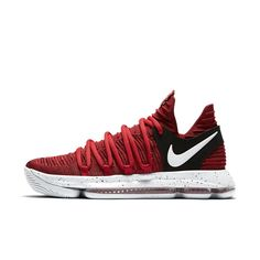 d46db0a811fda3 Nike Zoom KDX Men s Basketball Shoe Size 10.5 (Red) Size 14