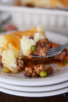 Shepherd's Pie--brought back from the brink of absolute disgustingness by melskitchencafe.com.