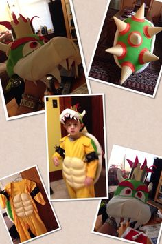 Bowser costume Halloween 2018, Holidays Halloween, Halloween Costumes, Halloween Ideas, Dyi Costume, Costume Ideas, Diy Projects To Try, Craft Projects, Craft Ideas