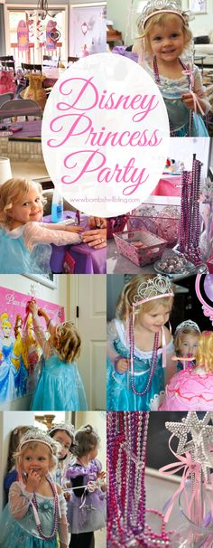 Disney Princess Party - Cutest thing I have ever seen!  Happy, happy little princesses!  #disney #princessparty