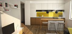Návrh kuchyne - Kadnárova, Bratislava - Kitchen interior by Archilab