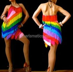 Charismatico Dancewear offers a selection of sequin and balroom dresses, drag queen and cabaret costumes. Gay Pride, Latin Dance Dresses, Fringe Dress, Dance Costumes, Cabaret Costumes, Coat Dress, Dress Codes, Queen, Dance Wear