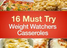 With recipes like these, casseroles are more than just convenient and comforting – they're crave-worthy! Start making room for them in your Weight Watchers meal plan today. 1. Chicken Taco Casserole (Weight Watchers) An easy and healthy way to enjoy Taco Tuesday with the family. Seerecipe deta…