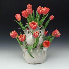 Porcelain, Clay, Vase, Plants, Home Decor, Clays, Porcelain Ceramics, Decoration Home, Room Decor