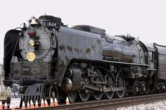 844 on its tour, the last steam loco bought by Union pacific