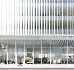 David Chipperfield Architects - Elizabeth House Development - London