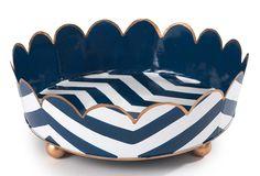 Chevron Stripe Vanity Tray,