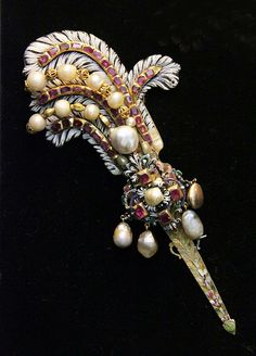 Hungarian, 17th century, Jewellery by Kotomicreations, via Flickr